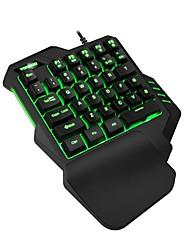 Недорогие -Проводное Клавиатура Назначение Android ,  Портативные / Cool Клавиатура ABS 1 pcs Ед. изм