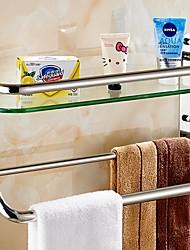 Недорогие -Полка для ванной Новый дизайн / Cool Современный Нержавеющая сталь / железо 1шт Односпальный комплект (Ш 150 x Д 200 см) На стену