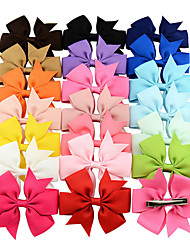 Недорогие -Другие материалы Зажим для волос с Цветы 20 На каждый день Заставка
