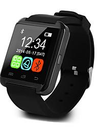 Недорогие -U8 Смарт Часы Android iOS Bluetooth Спорт Сенсорный экран Израсходовано калорий Температурный дисплей Смарт Дело Датчик для отслеживания активности будильник / Хендс-фри звонки / Медиа контроль