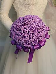 Недорогие -Свадебные цветы Букеты Свадьба / Свадебные прием Шелк 11-20 cm