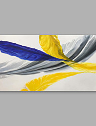 abordables -Peinture à l'huile Hang-peint Peint à la main - Abstrait Moderne Toile