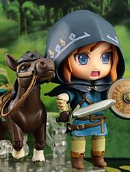 billiga -Anime Actionfigurer Inspirerad av The Legend of Zelda Länk pvc 10 cm CM Modell Leksaker Dockleksak