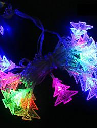 Недорогие -brelong led красочный водонепроницаемый праздник украшения строка рождественская елка 1 шт.