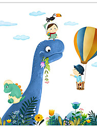 Недорогие -Декоративные наклейки на стены - Простые наклейки / Праздник стены стикеры Животные / Рождество Столовая / Детская