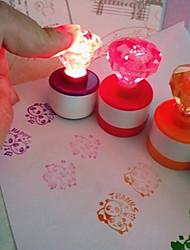 Недорогие -детские игрушки штампы мультфильм животные фрукты дети печать для scrapbooking stamper diy мультфильм stamper игрушки со светом