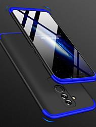Недорогие -Кейс для Назначение Huawei Huawei Mate 20 Lite Защита от удара / Ультратонкий / Матовое Чехол Однотонный Твердый ПК для Mate 10 / Mate 10 pro / Mate 10 lite