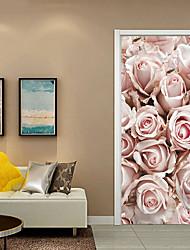Недорогие -Декоративные наклейки на стены - 3D наклейки Натюрморт / Цветочные мотивы / ботанический Гостиная / Кабинет / Офис