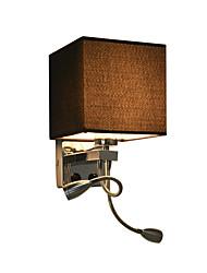 baratos -Criativo / Novo Design LED / Contemporâneo Moderno Luminárias de parede / Swing Arm Lights Quarto / Quarto de Estudo / Escritório Metal Luz de parede 220-240V 40 W
