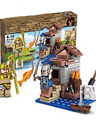 Недорогие -Конструкторы Конструкторы Игрушки Обучающая игрушка 100-200 pcs Армия Ветряная мельница Лошадь совместимый Legoing моделирование Все Мальчики Девочки Игрушки Подарок