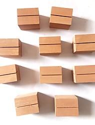 Недорогие -Отделка деревянный Орнаменты Рождество / Новый год 10 pcs