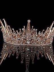 billige -Legering Tiaras med Krystal 1 Stykke Bryllup / Dagligdagstøj Medaljon