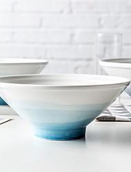 Недорогие -Цельный Глубокие тарелки Стеклянная посуда Миски и бутылки с водой посуда Керамика Heatproof Новый дизайн Cool
