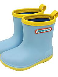 ef96c93c028 Para Meninos   Para Meninas Sapatos PVC Primavera   Outono Botas de Chuva  Botas para Infantil   Adolescente Amarelo   Azul   Rosa claro