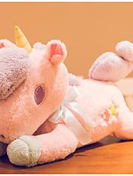 Недорогие -единорог Мягкие игрушки Разговор Гарнитура Bluetooth для гарнитуры Мягкие и плюшевые игрушки Животные говорящий Милый Хлопок / полиэфир Гусиное перо Все Игрушки Подарок 1 pcs
