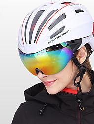 Недорогие -Mountainpeak Взрослые Мотоциклетный шлем BMX Шлем 20 Вентиляционные клапаны Легкий вес Сетка от насекомых Формованный с цельной оболочкой ESP+PC Виды спорта