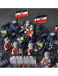 Недорогие -Конструкторы 50-100 pcs Армия Мото моделирование Мотоспорт Военная техника Все Игрушки Подарок Legoingly