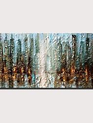 voordelige -Hang-geschilderd olieverfschilderij Handgeschilderde - Abstract Landschap Modern Zonder Inner Frame