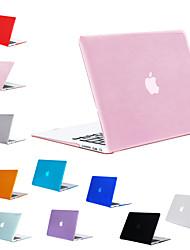 """Недорогие -MacBook Кейс Однотонный ПВХ для MacBook Pro, 13 дюймов / Новый MacBook Pro 13"""" / New MacBook Air 13"""" 2018"""