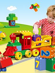 baratos -Blocos de Construir 100 pcs Cauda Criativo Criativo Alivia ADD, ADHD, Ansiedade, Autismo Interação pai-filho Todos Brinquedos Dom