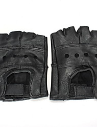 Недорогие -Half-палец Муж. Мотоцикл перчатки Воловья кожа Дышащий / Износостойкий / Защитный