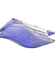 billiga -36w moderna ledd kristall fläkt montera takljus vardagsrum matsal sovrum taklampa