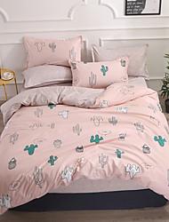levne -Povlečení Květinový Polyester Reliéfní 4 kusyBedding Sets