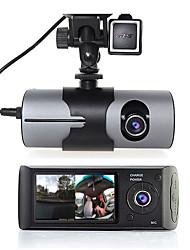 Недорогие -r300 480p / 720p HD Автомобильный видеорегистратор 140° Широкий угол 2.7 дюймовый Капюшон с GPS / Ночное видение / G-Sensor Автомобильный рекордер / Обноружение движения / Циклическая запись