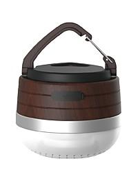Недорогие -CC-MUSIC Походные светильники и лампы Аварийные лампы Светодиодные лампы Светодиодная лампа XP-G2 1 излучатели 180 lm 3 Режим освещения с батареей Портативные, Новый дизайн