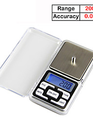Недорогие -200g / 0.01g lcd-digital screen digital jewelry scale home life