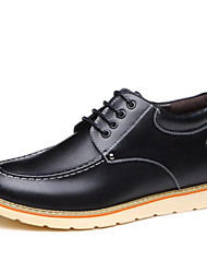 olcso -Férfi Kényelmes cipők Bőr Ősz & tél Félcipők Fekete / Sárga / Barna