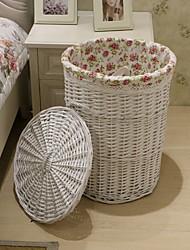 Недорогие -Корзина для белья деревянный Обычные Дорожная сумка Сумки для хранения домашних хозяйств