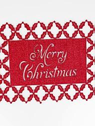 Недорогие -Дом многофункциональный творческий зеленый украшения рождественские поделки полый полиэстер изоляционная подкладка против скольжения против ожогов столовых