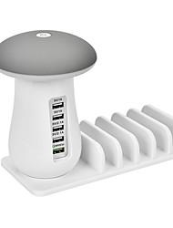 Недорогие -Зарядное устройство USB SR-1016LM 5 Настольная зарядная станция С интеллектуальной идентификацией / С быстрой зарядкой 3.0 USB Адаптер зарядки