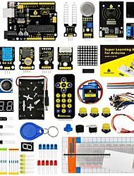 Недорогие -Супер стартовый набор keyestudio / комплект обучения (uno r3) для стартового набора arduino с 32 проектами 1602 жк