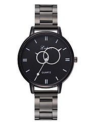 Недорогие -Жен. Наручные часы Кварцевый Черный Новый дизайн Повседневные часы Аналоговый На каждый день Мода - Черный Один год Срок службы батареи