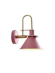 baratos -QINGMING® Estilo Mini Simples / Contemporâneo Moderno Sala de Estar / Quarto Metal Luz de parede 110-120V / 220-240V 60 W