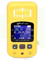 Недорогие -4-в-1 детектор горючих газов детектор угарного газа токсичных и вредных газов