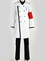 Недорогие -Вдохновлен Guilty Crown Косплей Аниме Косплэй костюмы Японский Косплей Костюмы Английский / Современный стиль Пальто / Блузка / Кофты Назначение Муж. / Жен. / Перчатки
