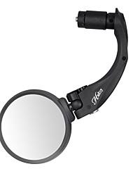 Недорогие -Bike Зеркала Anti-Shake, Пригодно для носки, 360 Вращающаяся Велоспорт стекло / Резина / нержавеющий Черный - 1 pcs