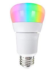 Недорогие -1шт 8W 500lm E26 / E27 Умная LED лампа 22 Светодиодные бусины SMD 2835 Работает с Amazon Alexa / Контроль APP / Главная страница Google