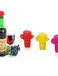 Недорогие -шляпа силиконовая вакуумная пробка бутылка ликер розетка вина стоп бутылка винная пробка