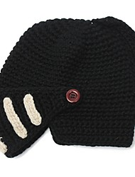 Недорогие -унисекс зима теплые шерстяные полосы вязать лыжи езда рыцарь шлем шапка кепка