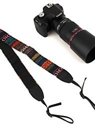 Недорогие -Ремешки камеры винтажный стиль хиппи холст плеча прочный хлопок для nikon / pentax / sony / canon dslr камера случайный цвет
