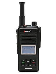 Недорогие -helida cd880 2g 3g gsm wcdma wi-fi walkie talkie с сим-картой gps позиционирование двухсторонняя радиосеть радио рация 200 км