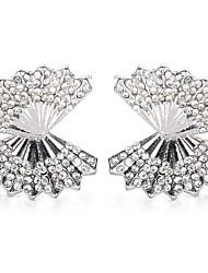 hesapli -1 çift Kadın's Retro Vidali Küpeler - Simüle Elmas Tatlı Moda Mücevher Altın / Gümüş Uyumluluk Düğün Parti