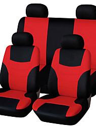 Недорогие -Чехлы на автокресла Чехлы для сидений Зеленый / Синий / Розовый Полиэфирная ткань Общий Назначение Универсальный Все года