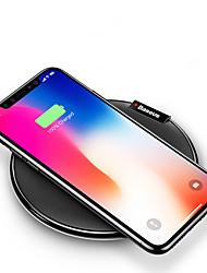 billiga Telefoner och Tabletter Laddare-Trådlös laddare USB-laddare USB Trådlös laddare / Qi 1 USB-port 2 A DC 5V för iPhone X / iPhone 8 Plus / iPhone 8