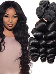 olcso -3 csomag Brazil haj Laza hullám Szűz haj Az emberi haj sző Jelmez kiegészítők Bundle Hair 8-28 hüvelyk Természetes szín Emberi haj sző Szagmentes Legjobb minőség Újonnan érkező Human Hair Extensions
