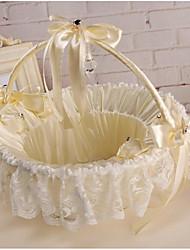 Недорогие -Цветочные корзины Кружево 22 см Цветы 1 pcs